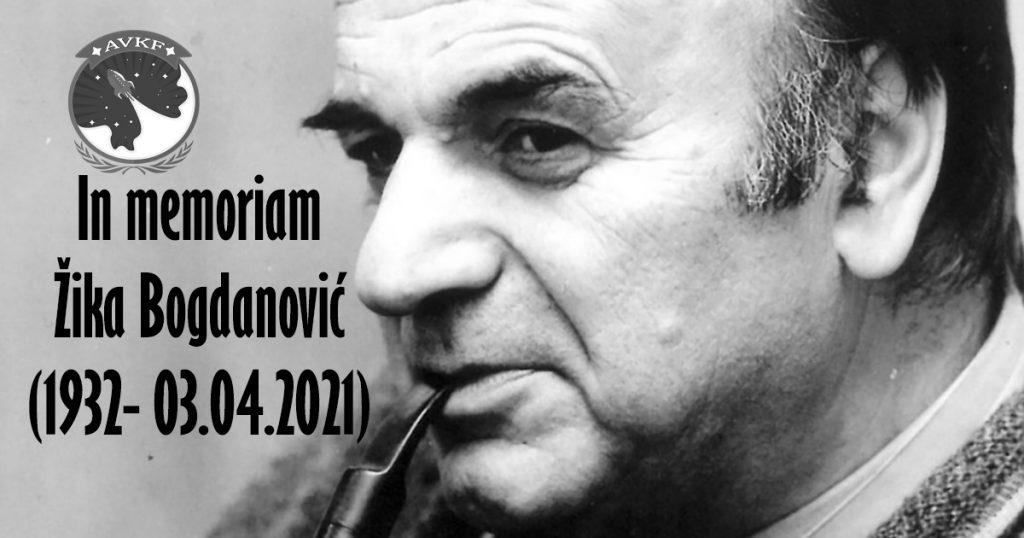 In memoriam Žika Bogdanović (1932- 03.04.2021)
