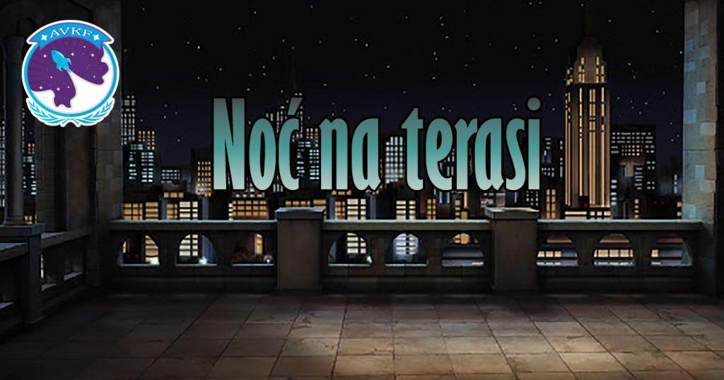 Noć na terasi – Elena Gligorijević