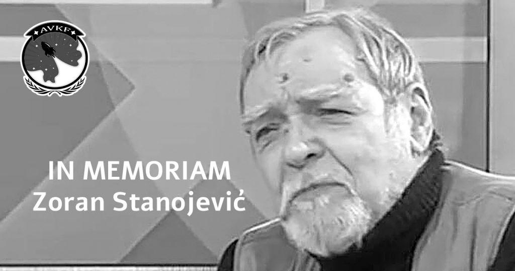 In memoriam Zoran Stanojević